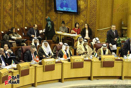 الاجتماع الطارئ لوزراء خارجية الدول العربية حول القدس (5)