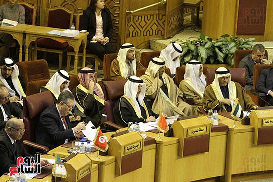 الاجتماع الطارئ لوزراء خارجية الدول العربية حول القدس (25)