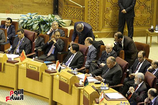 الاجتماع الطارئ لوزراء خارجية الدول العربية حول القدس (18)