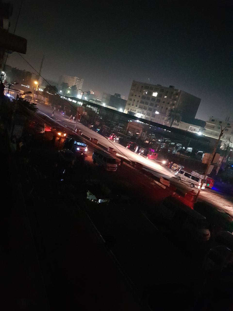 5- مدخل المدينة مظلم
