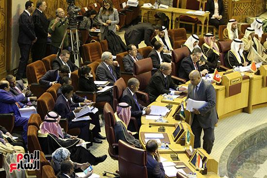 الاجتماع الطارئ لوزراء خارجية الدول العربية حول القدس (24)