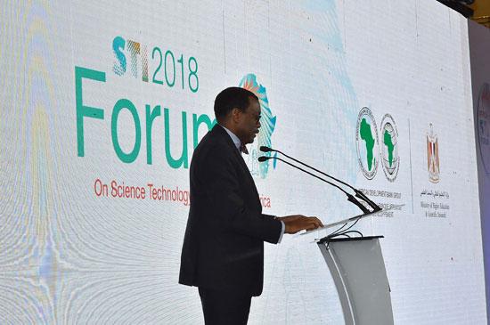 افتتاح المنتدى الأفريقي للعلوم والتكنولوجيا (7)