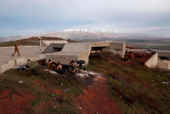 رصد موقع تحطم الطائرة الإسرائيلية