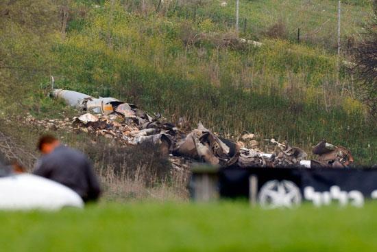 قوات الاحتلال تتوجه لموقع سقوط طائرة إسرائيلية