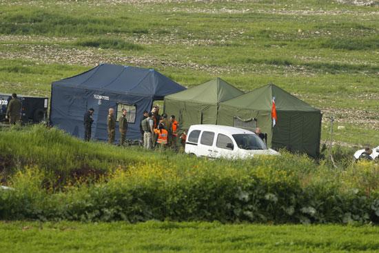 خيام قوات الاحتلال على هضبة الجولان المحتلة