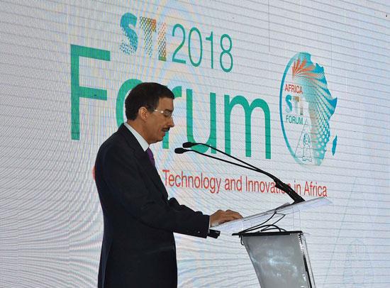 افتتاح المنتدى الأفريقي للعلوم والتكنولوجيا (6)