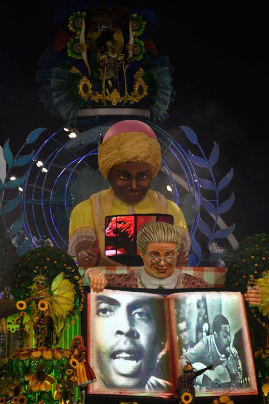 مجسمات كرنفال السامبا فى البرازيل