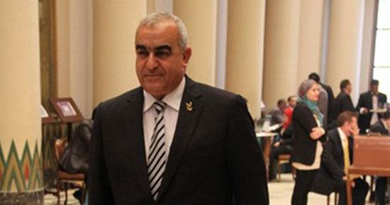 اللواء-أسامة-أبو-المجد-عضو-لجنة-الدفاع-والأمن-القومى-بمجلس-النواب