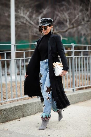 موديلات حقائب بأسبوع الموضة فى نيويورك (2)