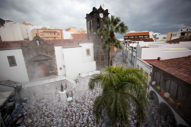 منظر عام لانطلاق مهرجان لوس انديانوس فى إسبانيا
