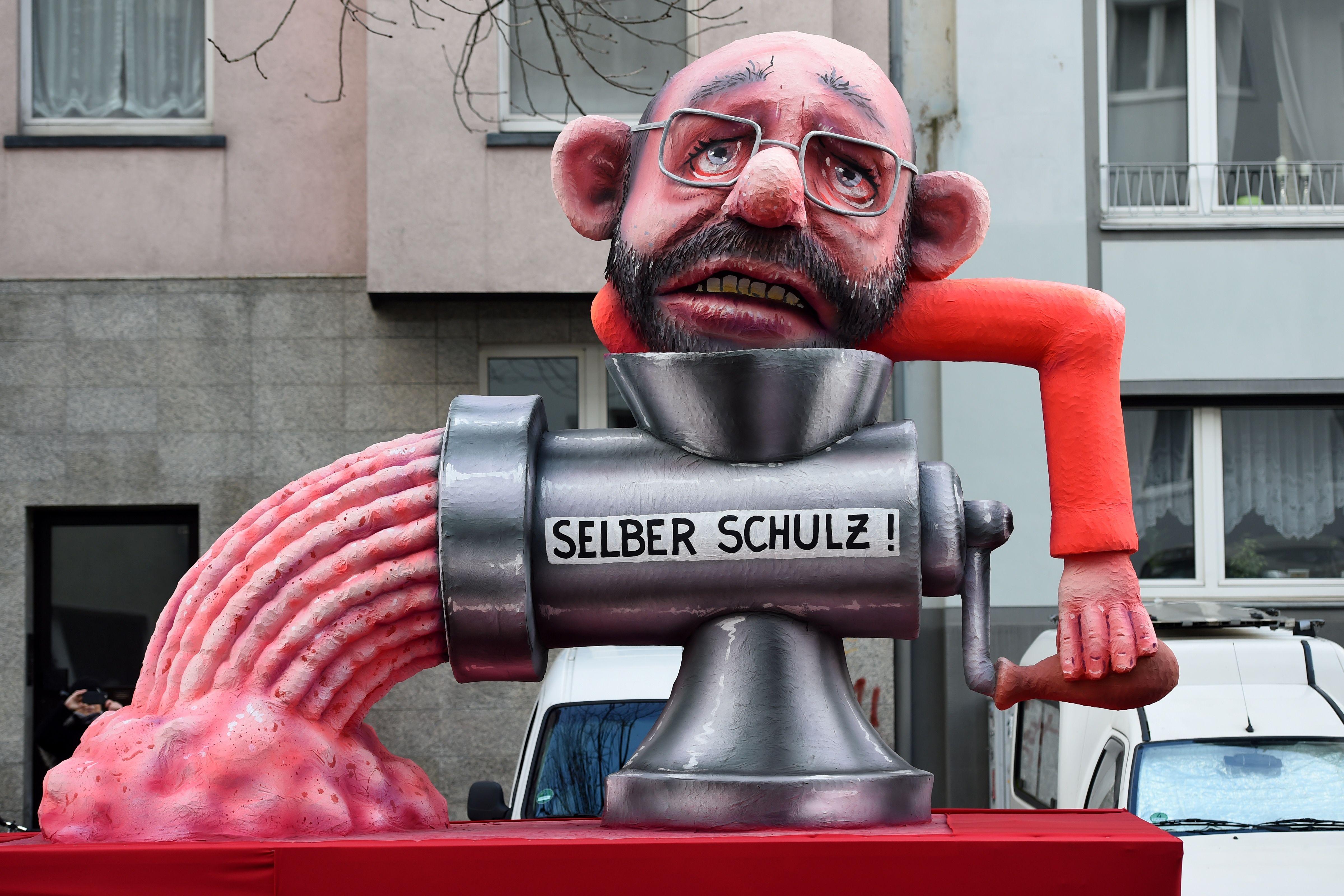 زعيم الحزب الديمقراطي الاشتراكي الألماني مارتن شولز
