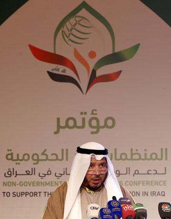 عبد الله المعتوق رئيس المنظمة الدولية للإغاثة الإسلامية فى الكويت