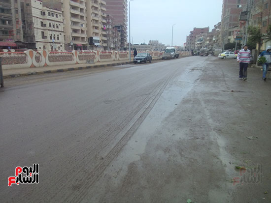 أمطار بكفر الشيخ