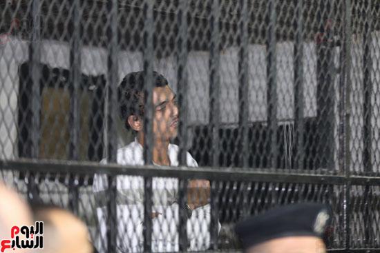محاكمة قاتل كاهن المرج (8)