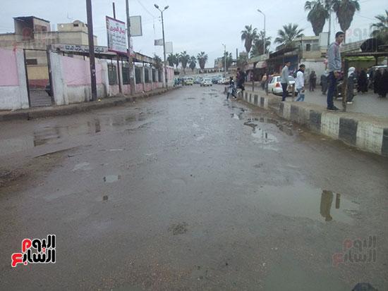 أمطار خفيفة بكفر الشيخ