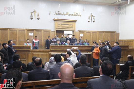 محاكمة قاتل كاهن المرج (6)