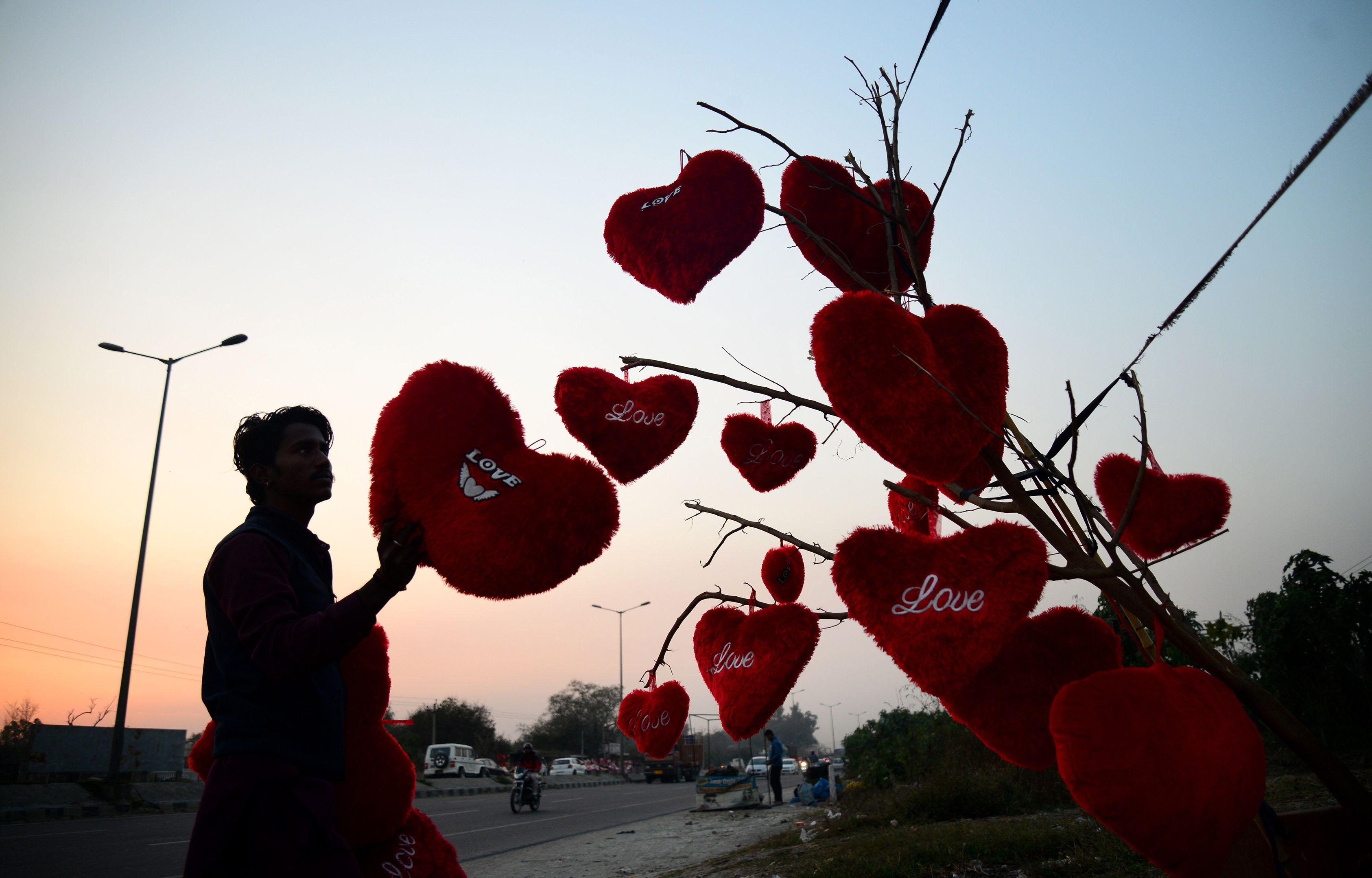 قلوب فى شوارع الهند