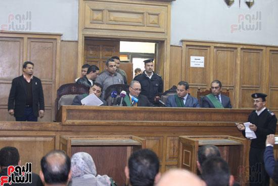 محاكمة قاتل كاهن المرج (2)