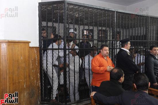 محاكمة قاتل كاهن المرج (1)