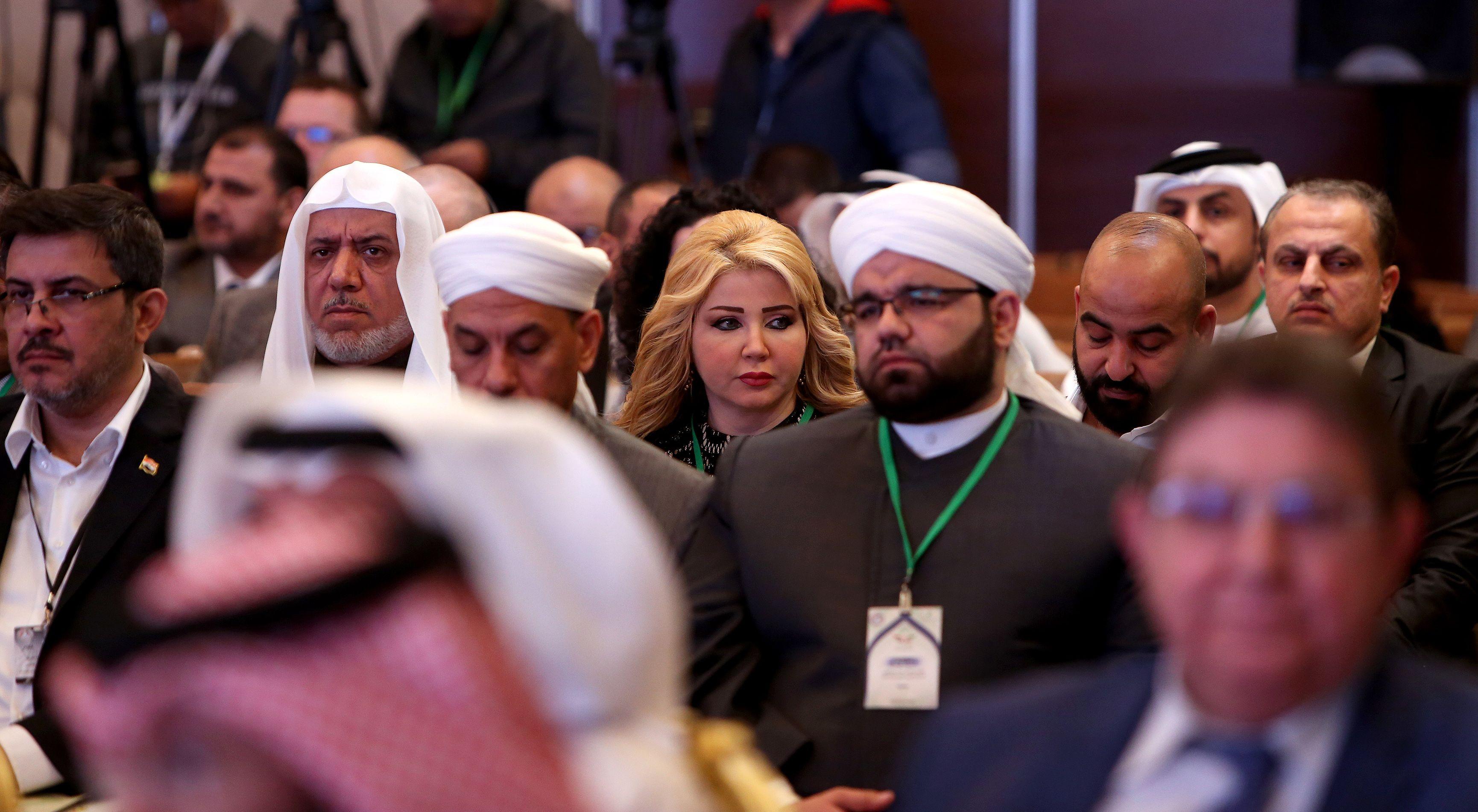 المشاركين فى مؤتمر الكويت لإعادة اعمار الكويت