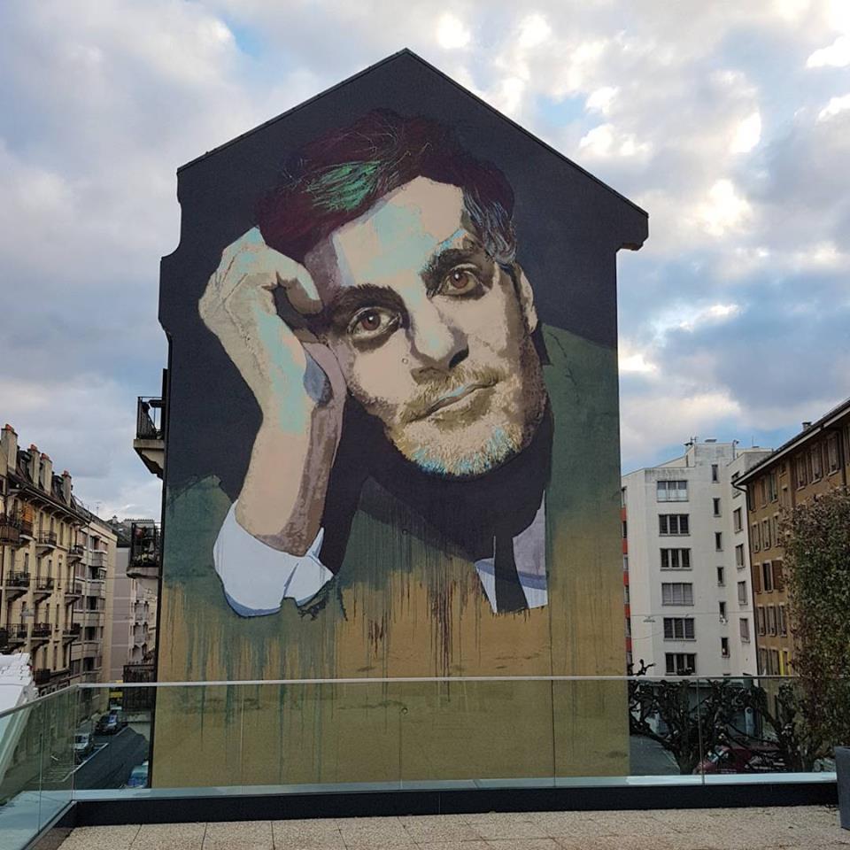 جرافيتى عمر الشريف