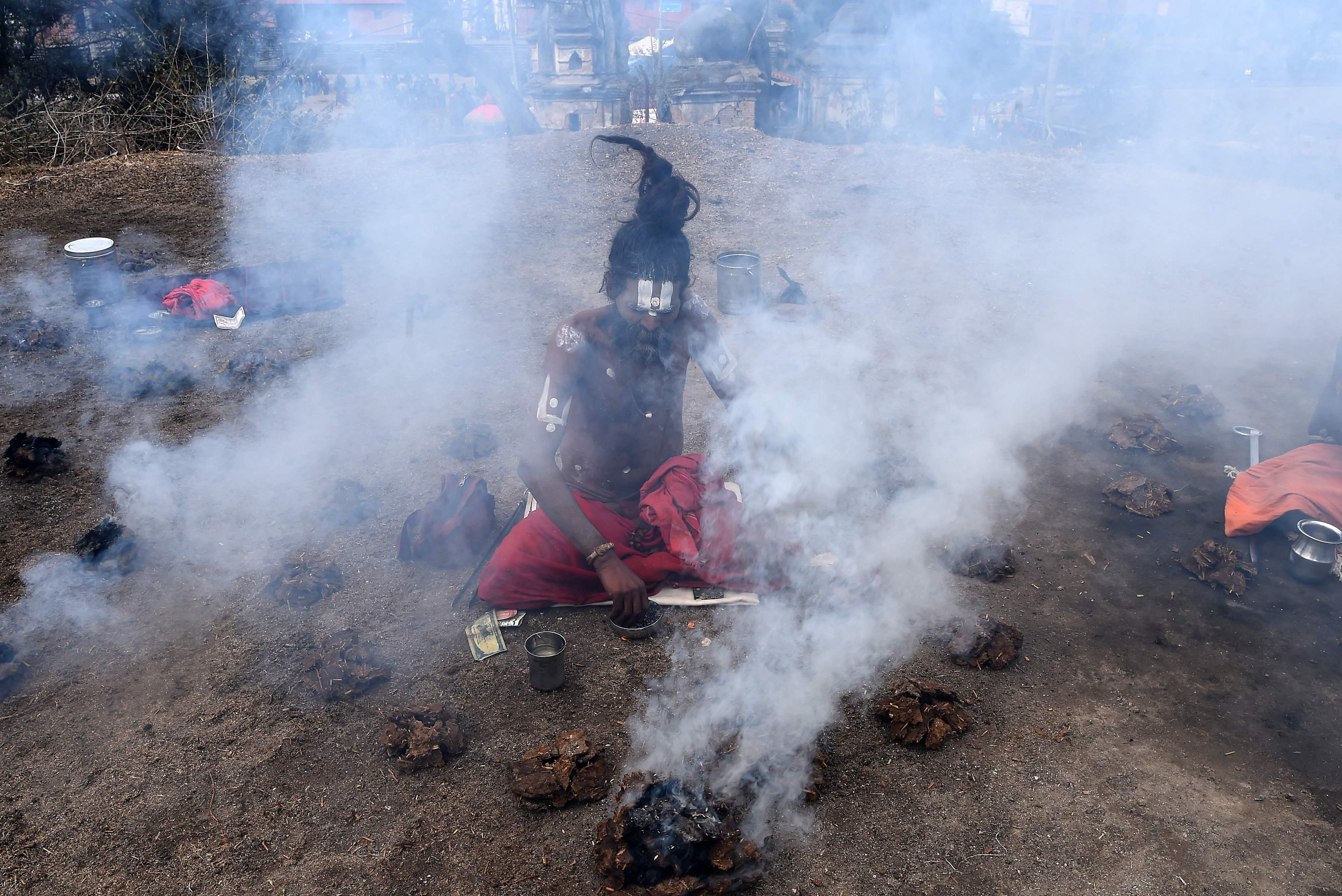كرنفال دينى فى نيبال (2)