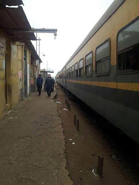 تهالك محطة القطار