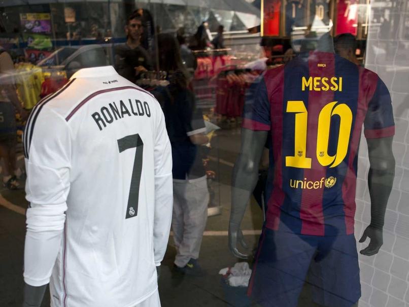 قميص رونالدو وميسى