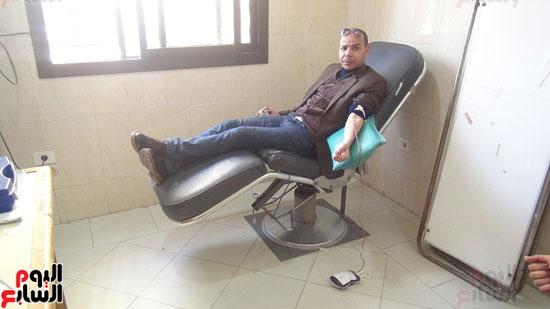 التبرع ببنك الدم