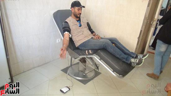 متبرع بالدماء