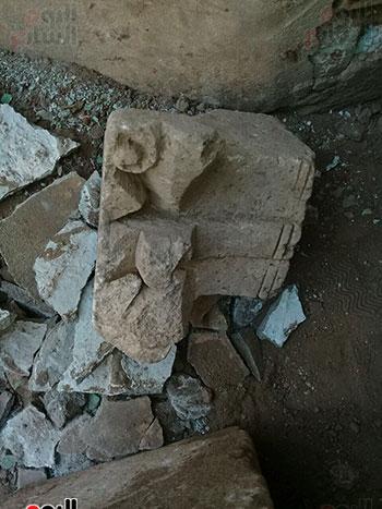 حجر أثرى يعود لعصر الملك إخناتون (1)