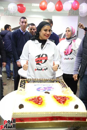 اليوم السابع يحتفل بمرور 10 سنوات على انطلاق موقعها الإلكترونى (102)