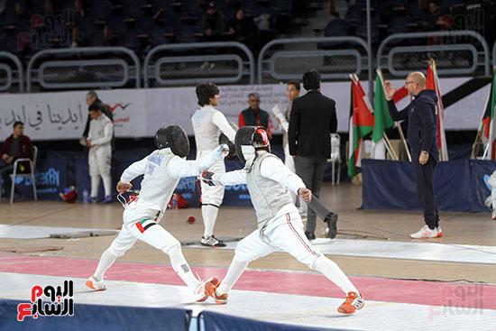 منافسات الشيش للشابات بالبطولة العربية للسلاح  (3)
