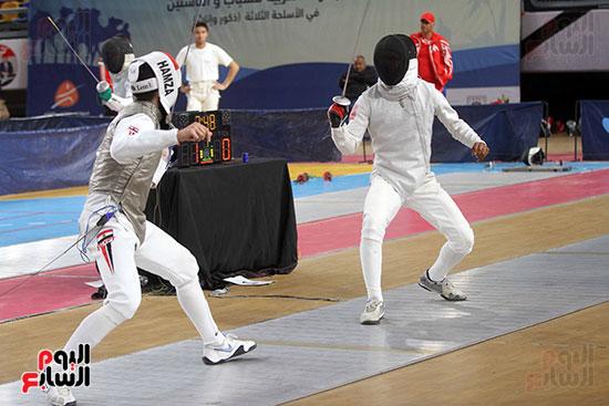 منافسات الشيش للشابات بالبطولة العربية للسلاح  (16)
