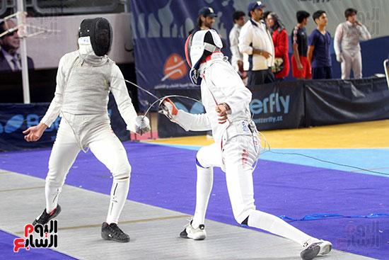 منافسات الشيش للشابات بالبطولة العربية للسلاح  (19)