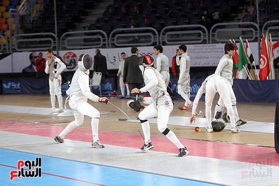 منافسات الشيش للشابات بالبطولة العربية للسلاح  (7)