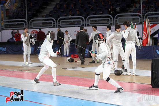 منافسات الشيش للشابات بالبطولة العربية للسلاح  (6)