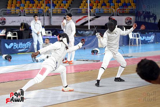 منافسات الشيش للشابات بالبطولة العربية للسلاح  (11)