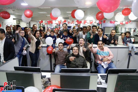 اليوم السابع يحتفل بمرور 10 سنوات على انطلاق موقعها الإلكترونى (164)