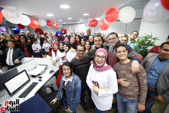 اليوم السابع يحتفل بمرور 10 سنوات على انطلاق موقعها الإلكترونى (168)
