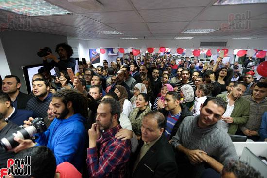 اليوم السابع يحتفل بمرور 10 سنوات على انطلاق موقعها الإلكترونى (140)