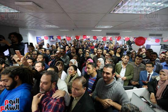اليوم السابع يحتفل بمرور 10 سنوات على انطلاق موقعها الإلكترونى (139)