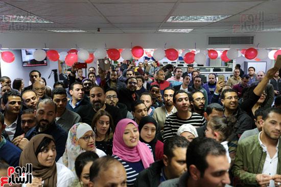 اليوم السابع يحتفل بمرور 10 سنوات على انطلاق موقعها الإلكترونى (142)