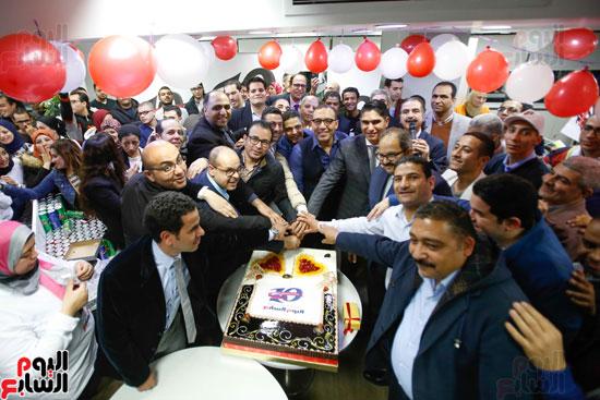 اليوم السابع يحتفل بمرور 10 سنوات على انطلاق موقعها الإلكترونى (155)