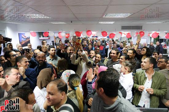اليوم السابع يحتفل بمرور 10 سنوات على انطلاق موقعها الإلكترونى (147)