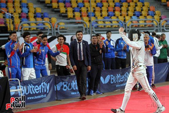 منافسات الشيش للشابات بالبطولة العربية للسلاح  (24)