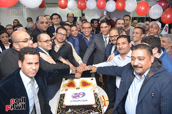 اليوم السابع يحتفل بمرور 10 سنوات على انطلاق موقعها الإلكترونى (10)
