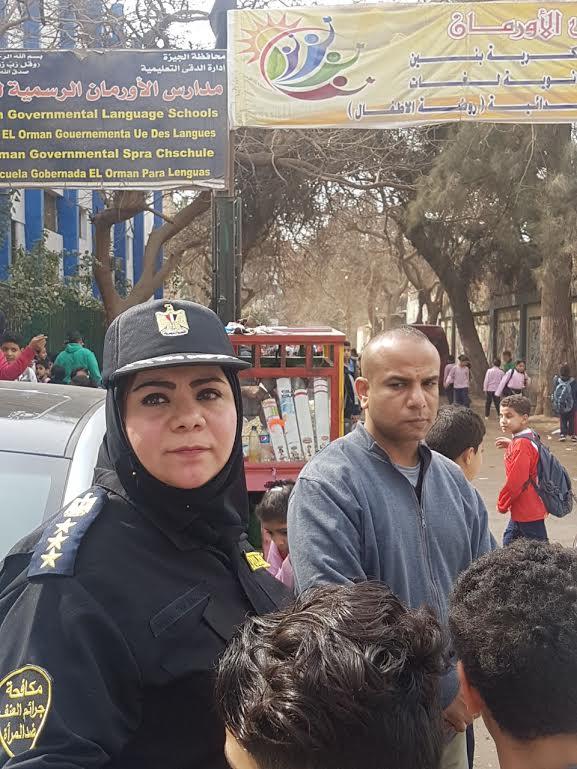 الشرطة النسائية بمحيط المدارس لمنع التحرش