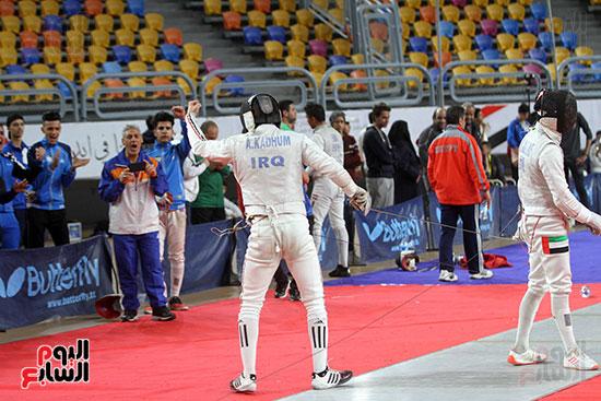 منافسات الشيش للشابات بالبطولة العربية للسلاح  (23)