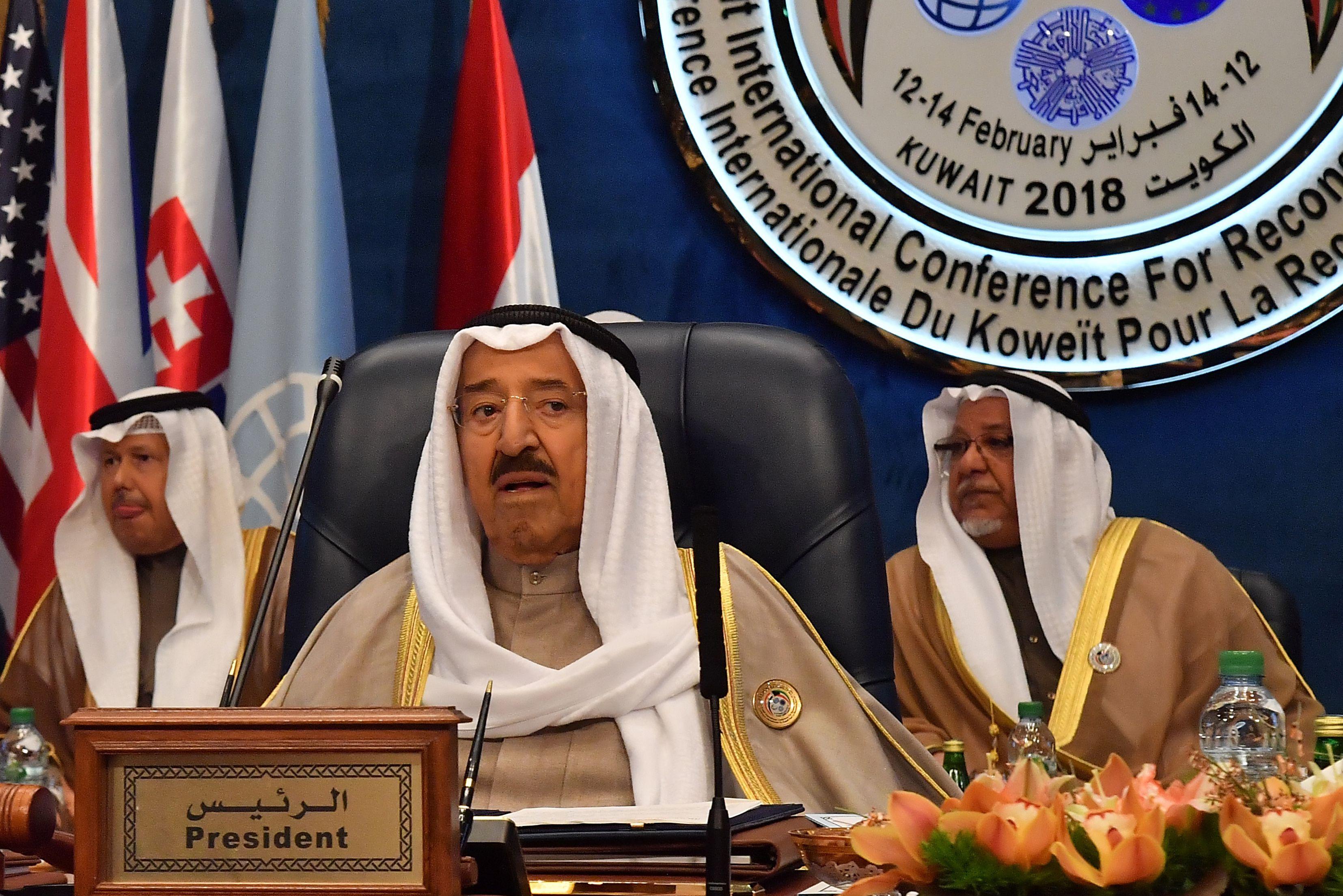الشيخ صباح الاحمد الجابر الصباح رئيس دولة الكويت